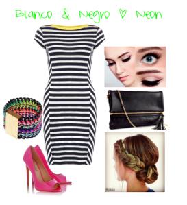 Blanco & Negro + Neon