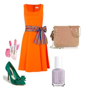Naranja + esmeralda