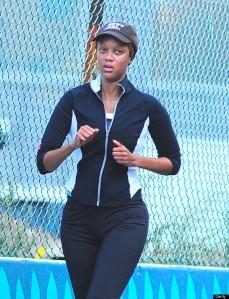Tyra Banks Sighting In New York City - September 17, 2012