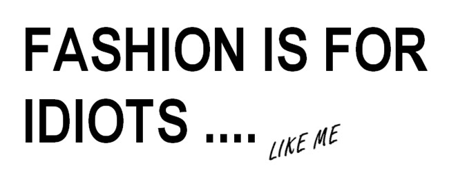 fashion is for